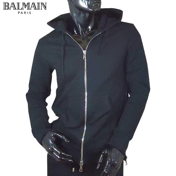 バルマン BALMAIN メンズ ジップアップ パーカー S7H 6643 J036 176 71S【送料無料】【smtb-TK】