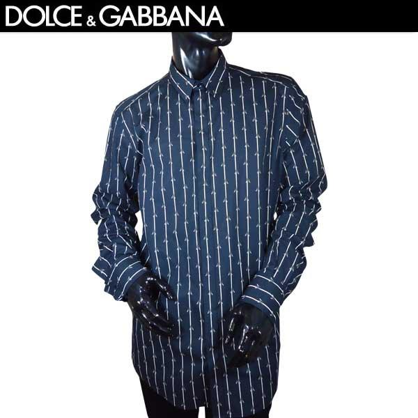 【送料無料】 ドルチェアンドガッバーナ(DOLCE&GABBANA) GOLD メンズ コットン ドレスシャツ G5EB7T FS52O HB612 【smtb-TK】 71S