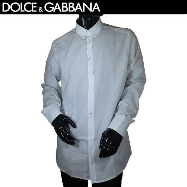 ドルチェ&ガッバーナ DOLCE&GABBANA メンズ GOLD コットン ボタンダウンシャツ G5EB3T FU5GK W0800 71S (R49680)【送料無料】【smtb-TK】