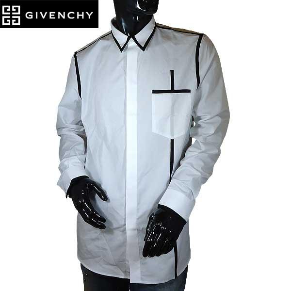 【送料無料】 ジバンシー(GIVENCHY) メンズ コットン ドレスシャツ ワイシャツ 6023 300 100 【smtb-TK】 71S