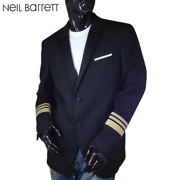 ニールバレット Neil Barrett メンズ ブレザー テーラード PBGI379R E100C 01 71S【送料無料】【smtb-TK】