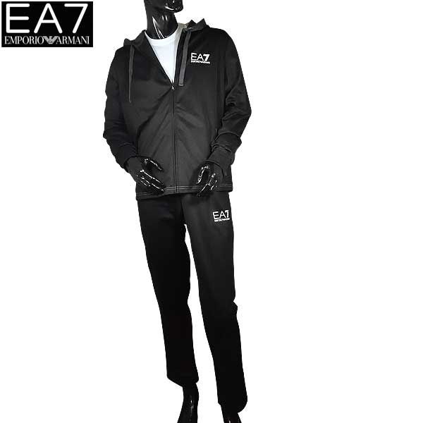 【送料無料】 エンポリオアルマーニ EA7 メンズ パーカー スウェットパンツ セットアップ 上下組 3YPV61 PJ08Z 1200 【smtb-TK】 71S