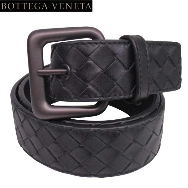 【完売】ボッテガヴェネタ BOTTEGA VENETA メンズ イントレチャート レザーベルト 271932 V4650 1000 71S (R64800)【送料無料】【smtb-TK】