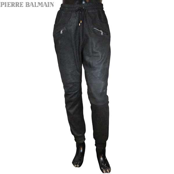 ピエールバルマン Pierre Balmain メンズ レザーパンツ HP56039L A6014 905 71S【送料無料】【smtb-TK】