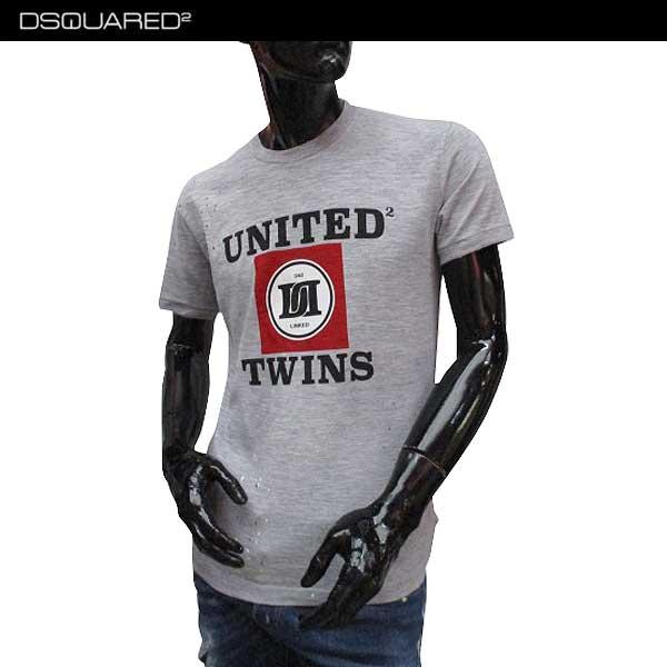 ディースクエアード DSQUARED2 メンズ クルーネック 半袖 Tシャツ S71GD0495 S22146 857M 71S【送料無料】【smtb-TK】