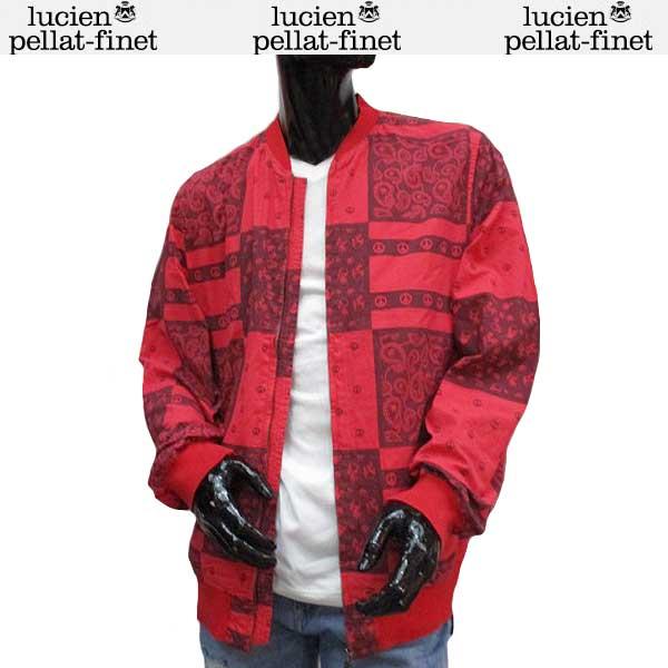 【送料無料】 ルシアン ペラフィネ(lucien pellat-finet) メンズ トラックジャケット ジップアップブルゾン YMP449H LUST 【smtb-TK】 71S