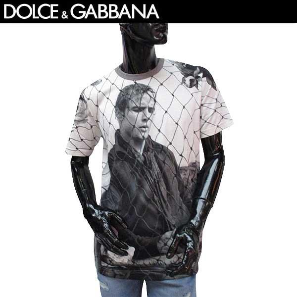 ドルチェ&ガッバーナ DOLCE&GABBANA メンズ 半袖 Tシャツ G8GX8T FR7UU HD399 71S【送料無料】【smtb-TK】