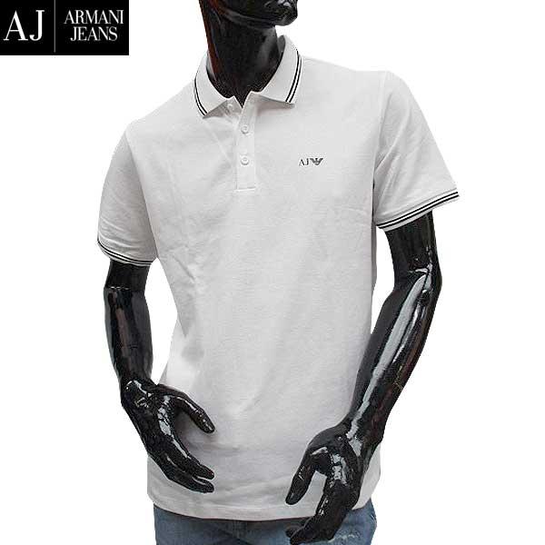 アルマーニジーンズ ARMANI-JEANS メンズ 半袖 ポロシャツ 8N6F2B 6JPTZ 1100 71S【送料無料】【smtb-TK】