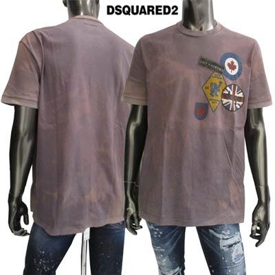 【送料無料】 ディースクエアード(DSQUARED2) メンズ クルーネック 半袖 Tシャツ S71GD0517 S22427 814 【smtb-TK】 71S