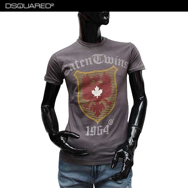 【送料無料】 ディースクエアード(DSQUARED2) メンズ クルーネック 半袖 Tシャツ S71GD0516 S22427 814 【smtb-TK】 71S