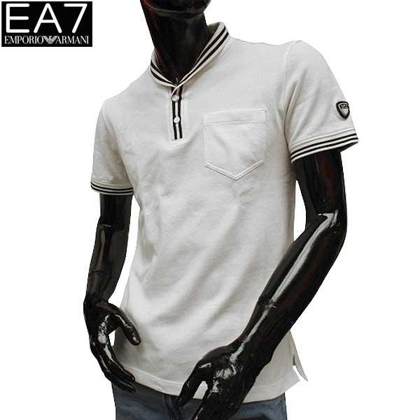 エンポリオアルマーニ EMPORIO-ARMANI メンズ EA7 半袖 ポロシャツ 3YPF74 PJ61Z 1100 71S【送料無料】【smtb-TK】