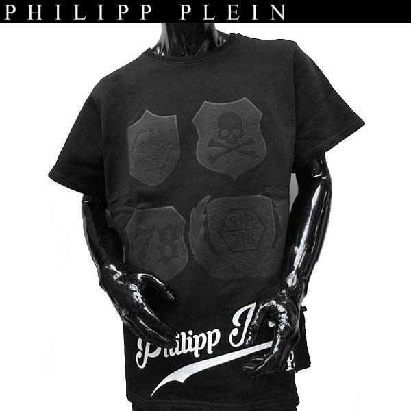 【送料無料】 フィリッププレイン(PHILIPP PLEIN) メンズ 半袖 Tシャツ MTK0019 PJY002N 02 【smtb-TK】 71S