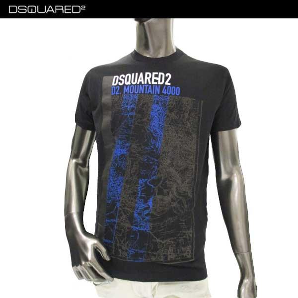 ディースクエアード DSQUARED2 メンズ クルーネック 半袖 Tシャツ S74GD0304 S22844 900 71A【送料無料】【smtb-TK】