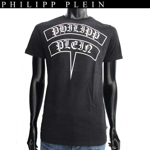 【送料無料】 フィリッププレイン(PHILIPP PLEIN) メンズ クルーネック 半袖 Tシャツ F17C MTK0765 PJY002N T-shirt Round Neck SS