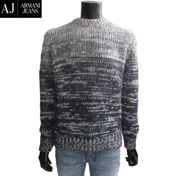 【送料無料】 アルマーニジーンズ (ARMANI-JEANS) メンズ カットソー セーター ニット 6Y6MB3 6M1WZ 2579 【smtb-tk】 71A