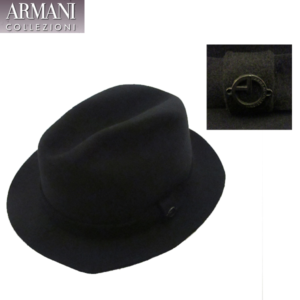 アルマーニ コレッツォーニ ARMANI COLLEZIONI ハット 帽子 647191 7A600 00020 71A【送料無料】【smtb-TK】