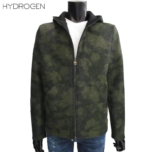 【送料無料】 ハイドロゲン (HYDROGEN) メンズ ジップアップ パーカー アウター 210362 397 【smtb-tk】 71A