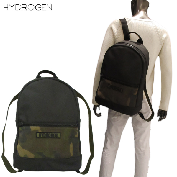ハイドロゲン HYDROGEN ユニセックス カモフラージュ バックパック リュックサック EG0014 007 71A【送料無料】【smtb-TK】