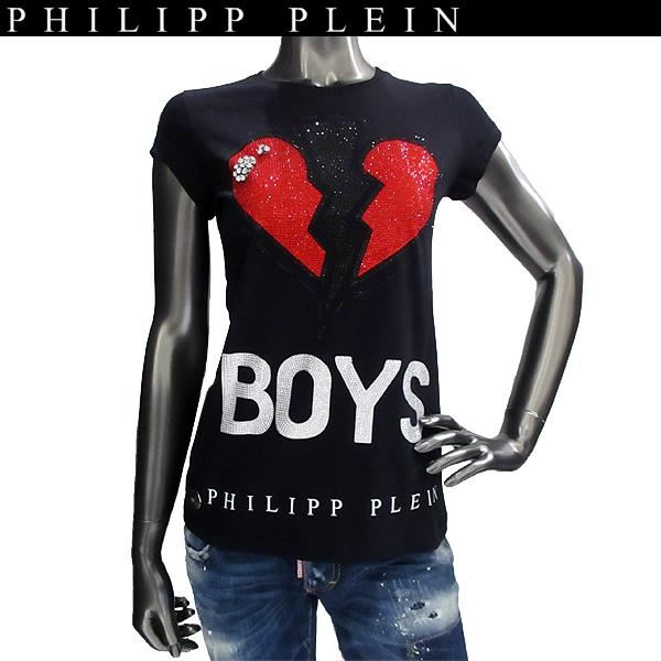 フィリッププレイン PHILIPP PLEIN レディース クルーネック Tシャツ