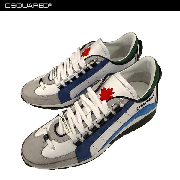 ディースクエアード DSQUARED2 メンズ スニーカー 靴 W17SN404 1110 M313 71A【送料無料】【smtb-TK】