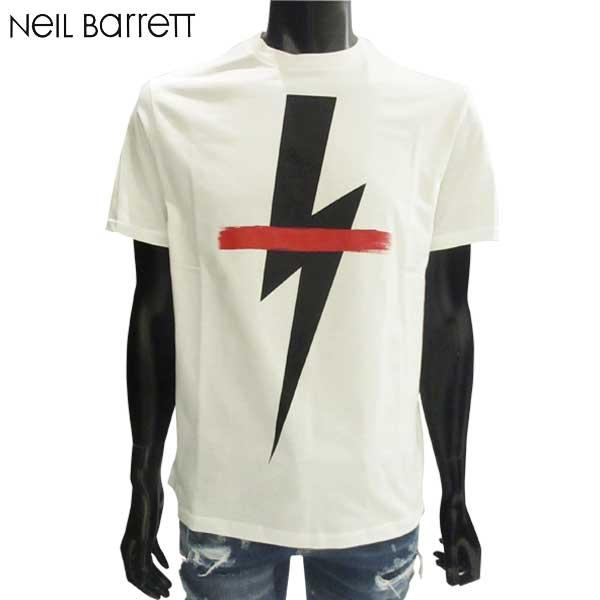 ニールバレット Neil Barrett メンズ クルーネック 半袖 Tシャツ PBJT362D G556S 1141 81S【送料無料】【smtb-TK】