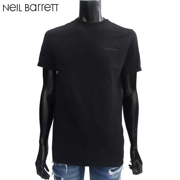 ニールバレット Neil Barrett メンズ クルーネック 半袖 Tシャツ PBJT378A G554S 524 81S (R36400)【送料無料】【smtb-TK】