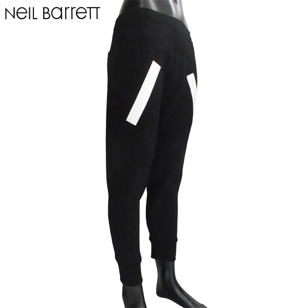 【送料無料】 ニールバレット (NeilBarrett) メンズ ボンディング素材 パンツ PBJP65SH G502S 524 【smtb-tk】 81S