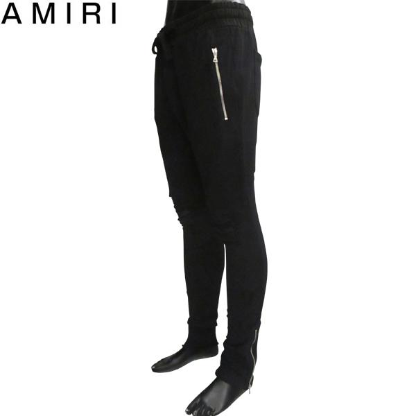 【送料無料】 アミリ (AMIRI) メンズ クラッシュデニム ジーンズ MBMX1 SWTBLK BLACK 【smtb-tk】 81S