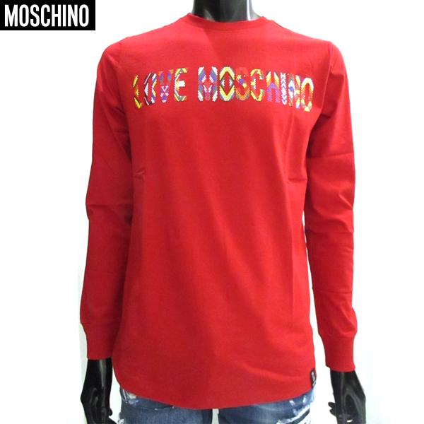 【送料無料】 モスキーノ(Moschino) メンズ ロング 長袖 Tシャツ ロンT SW1238104 15 【smtb-tk】 81S