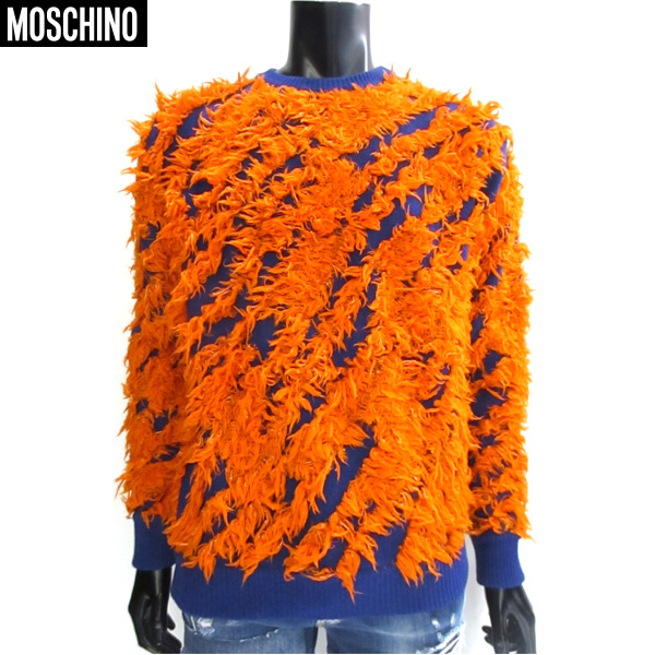 モスキーノ Moschino メンズ ニット セーター KW7213107 69 71a【送料無料】【smtb-TK】