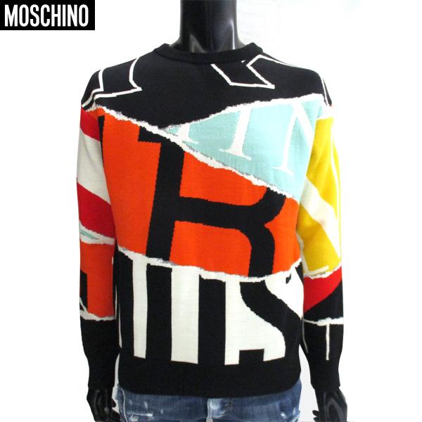 【送料無料】 モスキーノ(Moschino) メンズ ニット セーター KW7213114 09 【smtb-tk】 71a