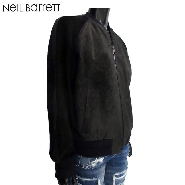 ニールバレット Neil Barrett メンズ ブルゾン アウター ジャケット PBPE517C G705C 01 81S【送料無料】【smtb-TK】