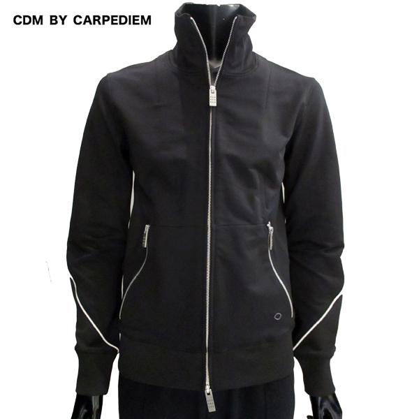 シーディーエム バイ カルペディエム CDM BY CARPEDIEM メンズ パイピングデザイン トラックジャケット ブラック CSO-809 SN90 black 81S (R15000)【送料無料】【smtb-TK】
