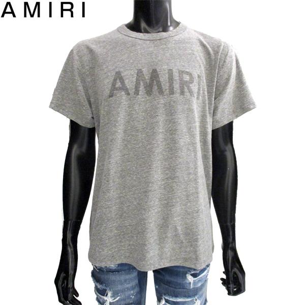 アミリ AMIRI Tシャツ ロゴ シンプル MTSST AMIHGY H.GREY TEE 81S (R55000) 【送料無料】【smtb-TK】