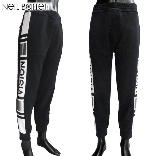 【送料無料】 ニールバレット (NeilBarrett) メンズ パンツ スウェット サイドデザイン BJP85H G529C 1992 【smtb-tk】 81S
