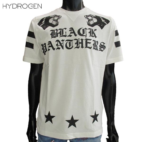 ハイドロゲン HYDROGEN メンズ ホッケー リミテッド Tシャツ 半袖 タイガー 白 ホワイトHOCKEY LTD 220610 001 81S【送料無料】【smtb-TK】