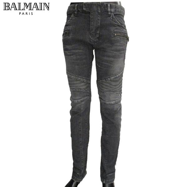 バルマン BALMAIN メンズ デニム ジーンズ デザイン S5HT572C479 176 NOIR/BLACK 81S (R158000) 【送料無料】【smtb-TK】
