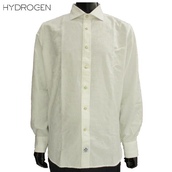 ハイドロゲン HYDROGEN メンズ 迷彩 白 シャツ 220410 A93 81S【送料無料】【smtb-TK】