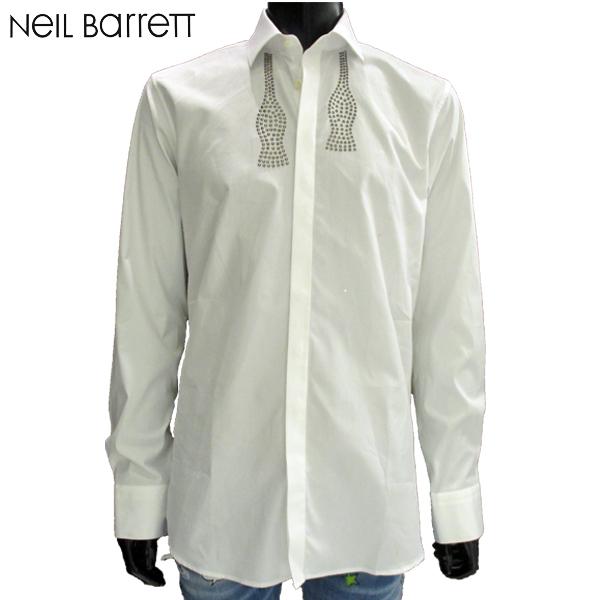【送料無料】 2018年 秋冬新作 ニールバレット(NeilBarrett) メンズ ドレスシャツ