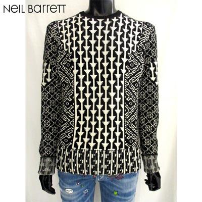 【送料無料】 2018年 秋冬新作 ニールバレット(NeilBarrett) メンズ ニット セーター BMA856 H619 2147 【smtb-tk】 81A