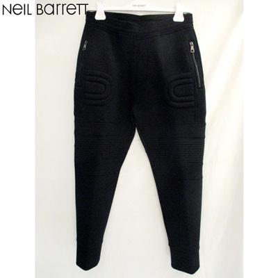 【送料無料】 2018年秋冬新作ニールバレット(Neil Barrett) メンズ パンツ スウェット カジュアル ニールバレット ブラック BJP105H H523C BLACK 【smtb-tk】 81A