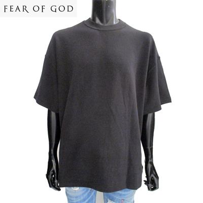 2018年秋冬新作 フィアオブゴッド FEAR OF GOD メンズ Tシャツ 半袖 インサイドアウト 黒 ブラック 5F18 1001THM 001BLACK GB81A【送料無料】【smtb-TK】