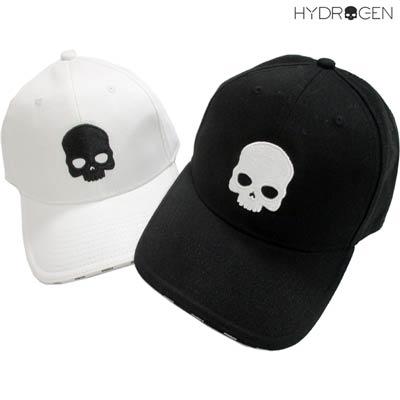 送料無料 ハイドロゲン HYDROGEN フロントスカル刺繍 ツバ部分ロゴ入りキャップ 2color ユニセックス可 信用 大好評です メンズ 帽子 キャップ 001 ロゴ R12100 smtb-TK 007 RG3004 白 黒 91A