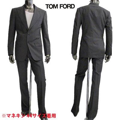 スーツ 【送料無料】 スリムデザインセットアップスーツ (R528000) SUIT 56 ロゴ FORD ジャケット メンズ グレー TOM 【smtb-TK】 トムフォード アウター 15A