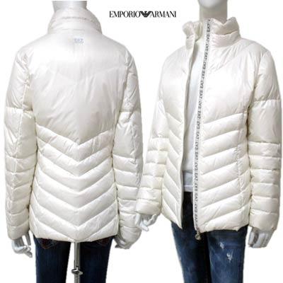 エンポリオアルマーニ EMPORIO-ARMANI レディース ダウン ジャケット ホワイト 281092 9W322 00010 12A (R55800) 【送料無料】【smtb-TK】