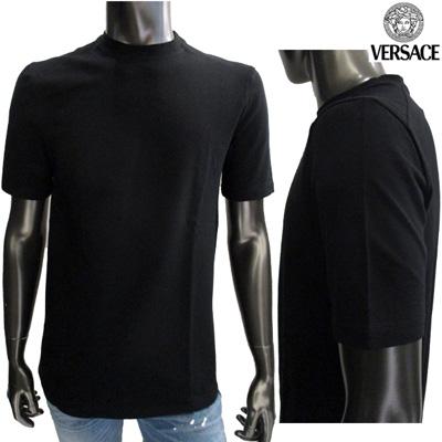 ヴェルサーチ(Versace) 【サイズS】半袖 Tシャツ メンズ トップス クルーネック ブラック 黒 20254 101763 008 (SIG 040) (R39800)【smtb-tk】【送料無料】 IT10S