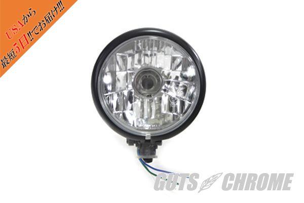 【取寄】33-1297 ブラック, ダイヤモンド カット スタイル ヘッド ランプ 汎用品