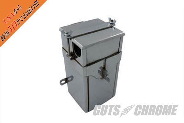【取寄】49-0300 バッテリー ボックス WITH LID, クローム DL 1929-1931WL 1932-1936WL 1937-1952