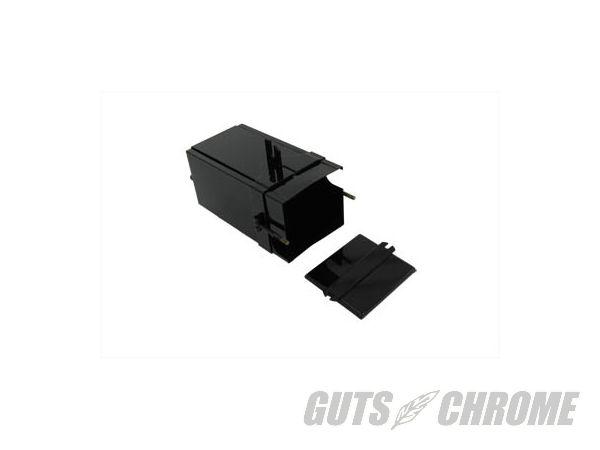 【取寄】49-0308 バッテリー ボックス, ブラック パウダー G 1940-1963 Servi-car