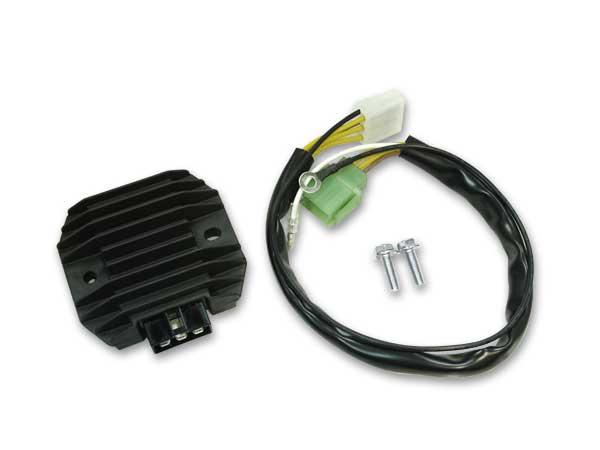 76-77 Z750A4/5/KZ900 MFバッテリー対応ICレギュレーター